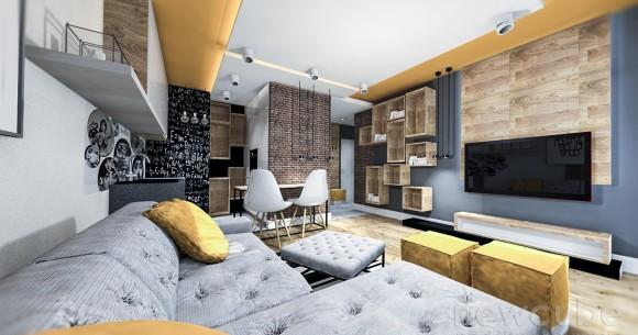 projekt mieszkania Wrocław