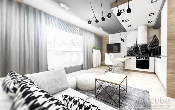 Wrocław - niewielkie, funkcjonalne mieszkanie